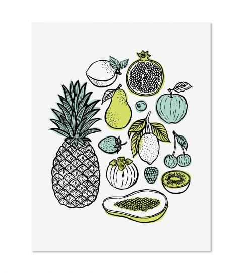 Fruit Print