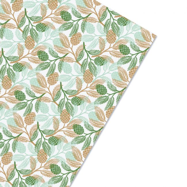 Winter Greens Gift Wrap