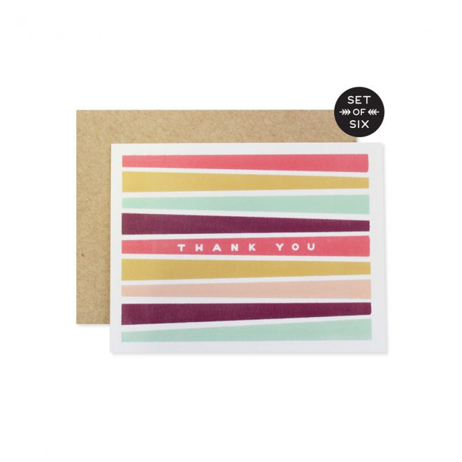 Thank You Stripes Boxed Set