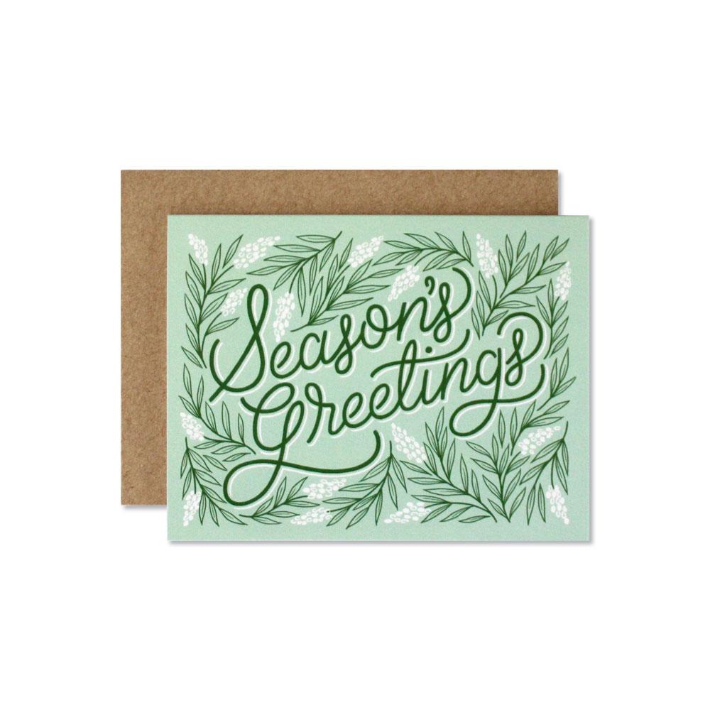 Seasons Greetings Wild Hart Paper