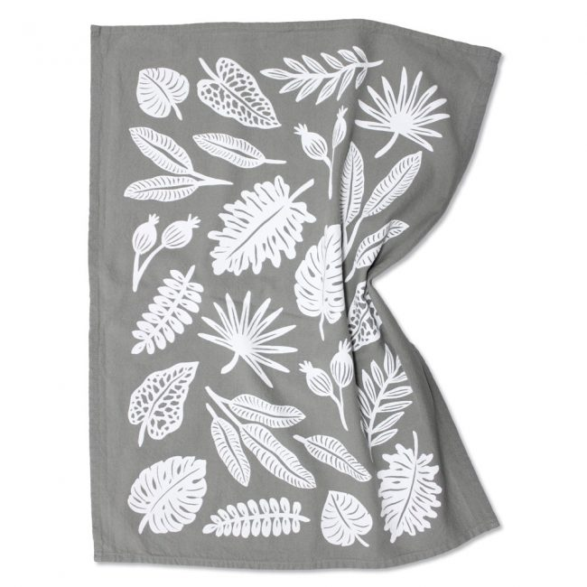 Leaf Tea Towel