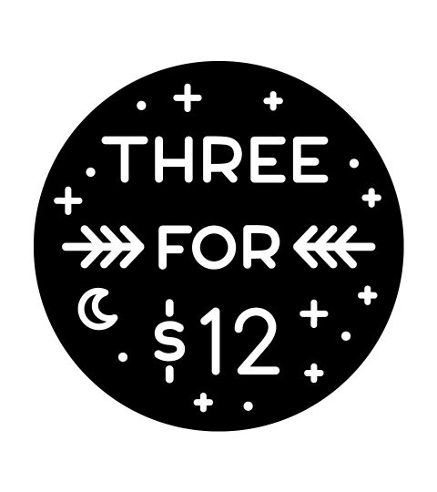 3 For $12 Greeting Cards