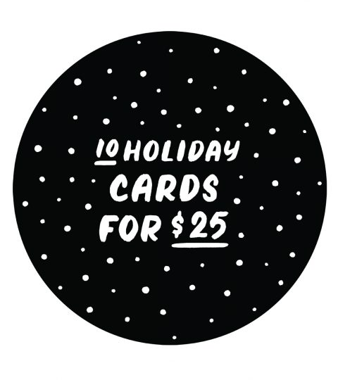 10 For $25 Holiday Cards