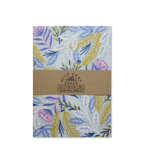 Winter Floral Notebook
