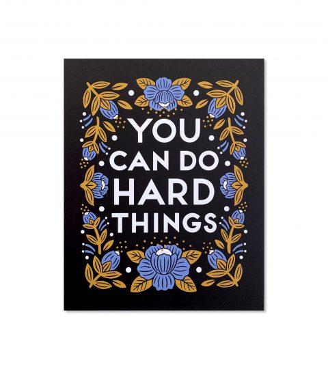 Hard Things Print