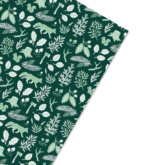 Woodland Holiday Gift Wrap